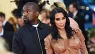 Ini Alasan Kanye West Kesal dengan Gaun Met Gala Kim Kardashian