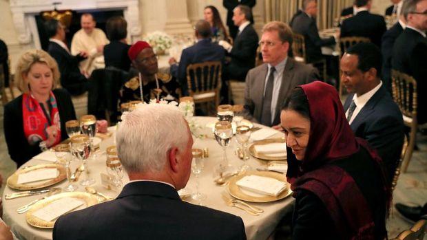 Buka puasa bersama di Gedung Putih