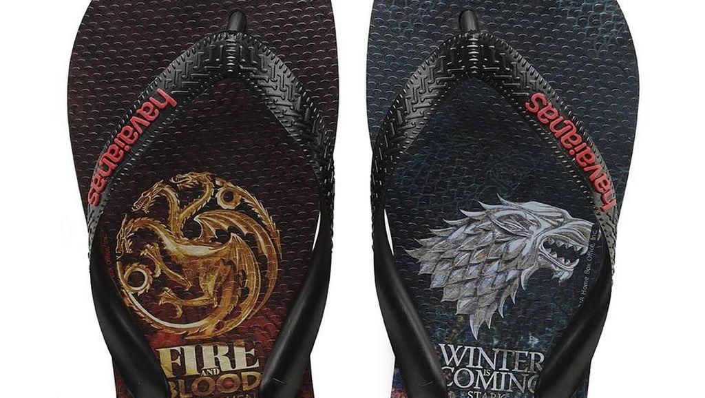 Setelah Sneakers, Giliran Sendal Jepit Game of Thrones Dirilis