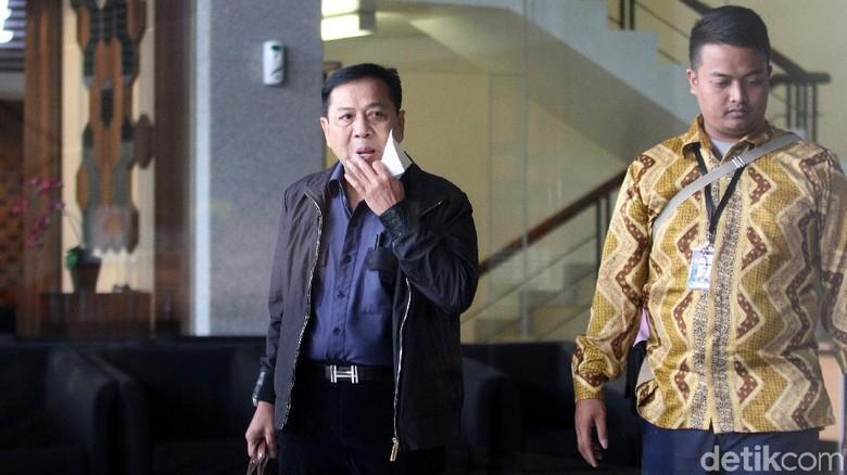 KPK Mulai Intip Peran Novanto di Kasus Sofyan Basir
