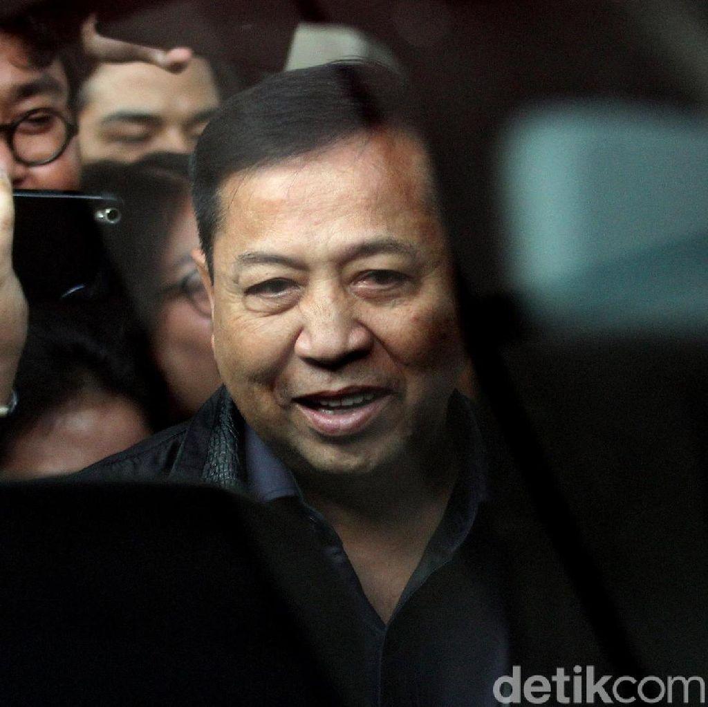 Novanto Kembali ke Sukamiskin, KPK Ungkit Pemindahan Koruptor ke Nusakambangan