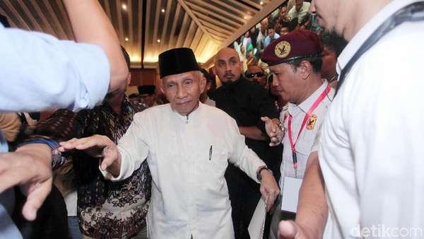 Alasan Amien Rais Tak Hadiri Panggilan tapi Temani Prabowo ke Polda