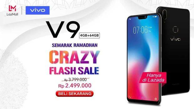 Jelang Lebaran, vivo Hadirkan V9 Crazy Flash Sale Hingga 35%