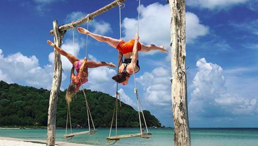 Liburannya Ninja Cantik Australia, Olivia Vivian