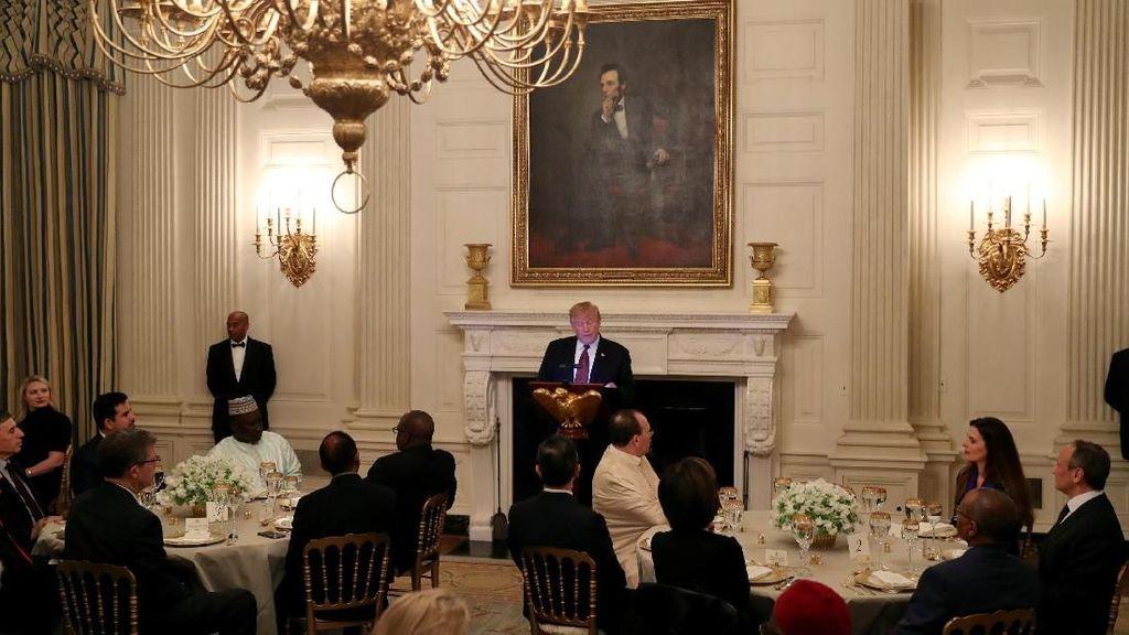 Trump Gelar Buka Puasa Bersama di Gedung Putih