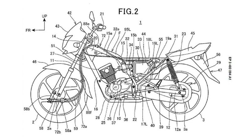 Desain motor Honda Foto: Pool (Rideapart)