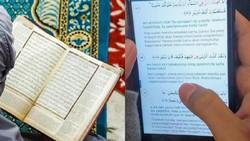 Membaca Al Quran Cetak Vs Digital, Mana yang Lebih Ramah untuk Mata?