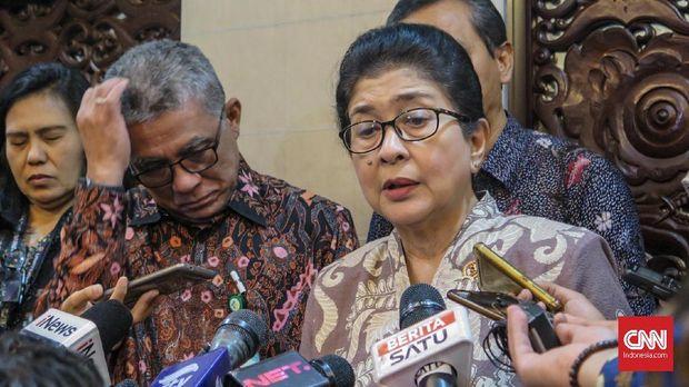 Menteri Kesehatan Nila Moeloek menyebut kelelahan hanya menjadi pemicu kematin anggota KPPS, bukan penyebab utama.