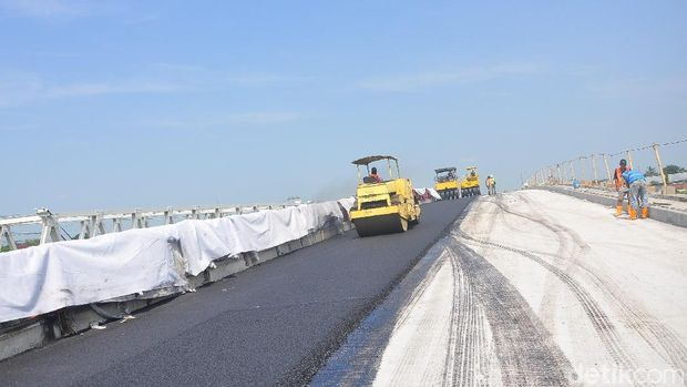 Perbaikan Jembatan Kol. Sunandar di Kudus