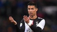 Ronaldo Absen di Laga Perpisahan Allegri dengan Juventus
