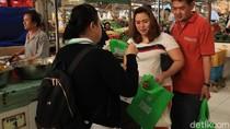 Komentar Pengunjung Pasar Modern Cibubur yang Kena Sidak Sampah Plastik