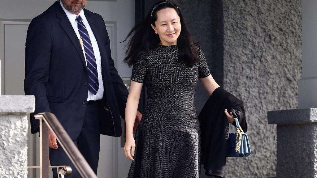 Sudah Setahun Bos Huawei Ditahan Amerika