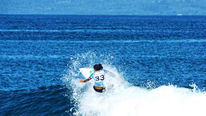 Liga Selancar Dunia atau World Surf League (WSL) di Bali, Indonesia. (Foto: dok.Istimewa)