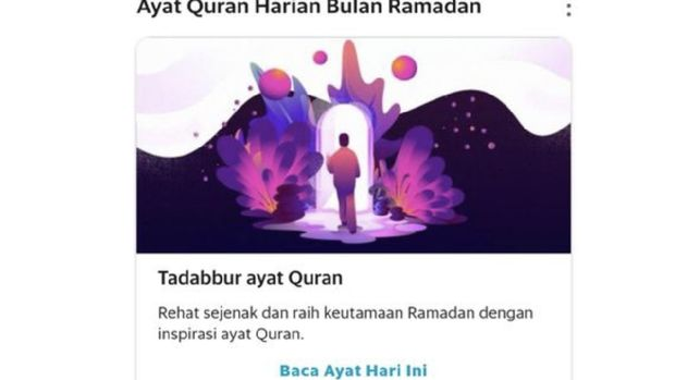Ngaji Zaman Now, Grab Hadirkan Fitur Ayat Al Quran