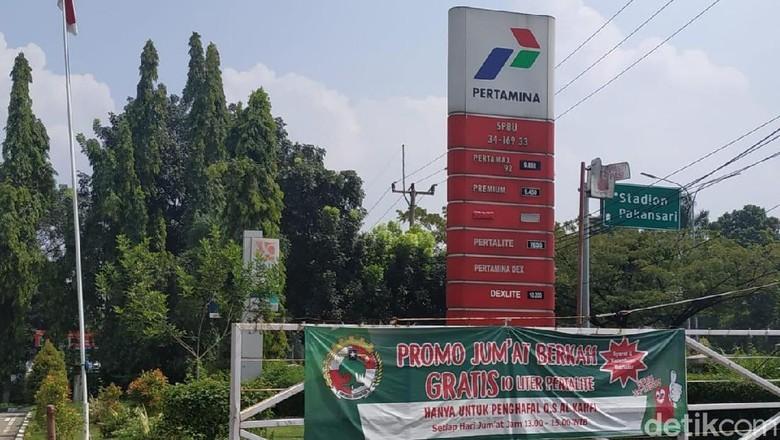 SPBU di Pakansari, Cibinong, Bogor Foto: Ridwan Arifin