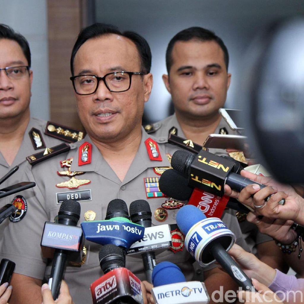 Polisi Cek CCTV-Periksa 4 Saksi soal Mako Brimob Purwokerto Ditembaki