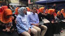 Kunjungi Bazar di Tebet, Sandi: Ramadhan Momen Beramal Saleh dan Usaha