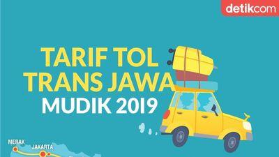 Daftar Lengkap Tarif Tol Trans Jawa untuk Mudik 2019
