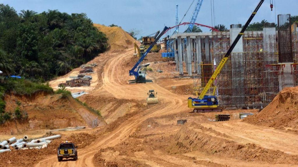 Penampakan Tol Pekanbaru-Dumai di Jalur Gajah
