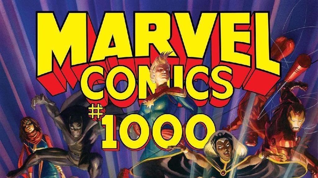 80 Tim Kreatif Marvel Gabungkan Puluhan Superhero