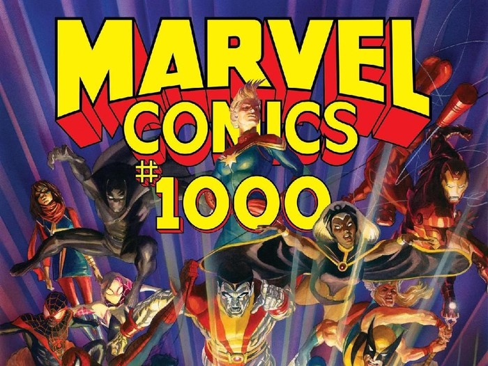 Komik Marvel Comics #1000