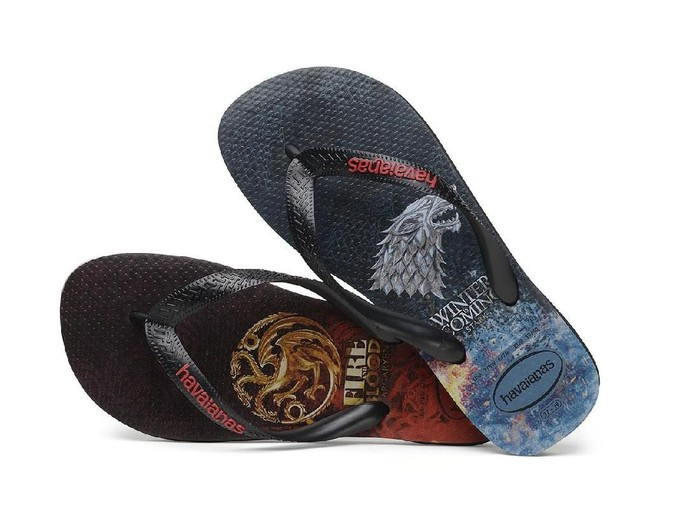 Sendal jepit Game of Thrones (Foto: Dok. Havaianas)