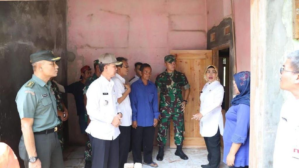 33 Rumah Terdampak Tsunami di Anyer Selesai Dibangun