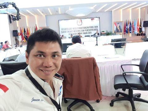 Ketua DPP Demokrat Jansen Sitindaon