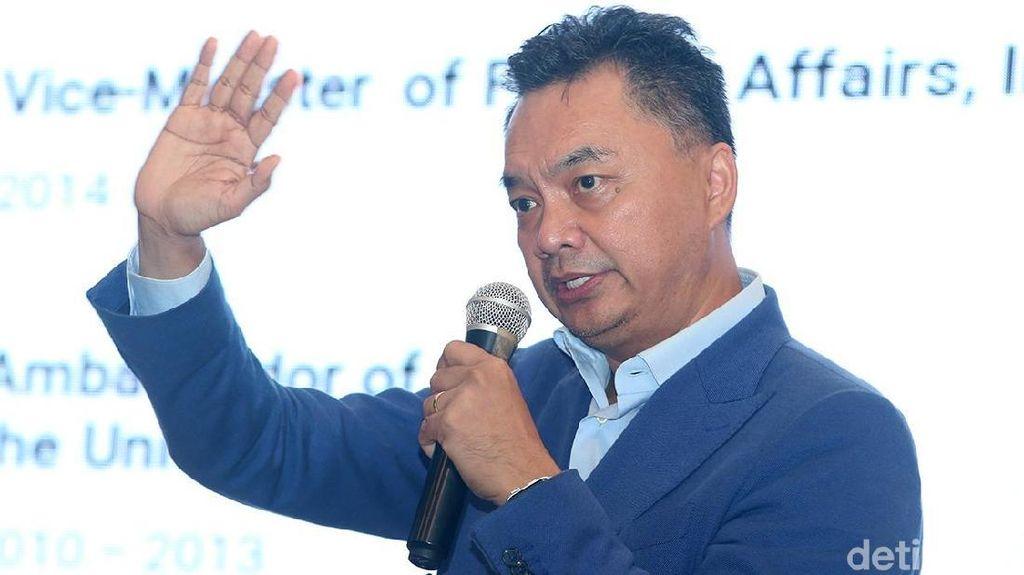 Dino Patti Djalal Sebut Rich Brian Bukan Panutan