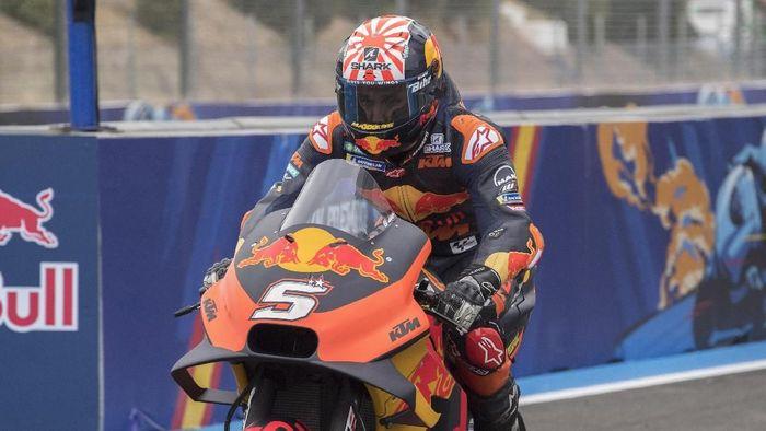 Johann Zarco akan tinggalkan KTM di akhir musim 2019. (Foto: Mirco Lazzari gp/Getty Images)