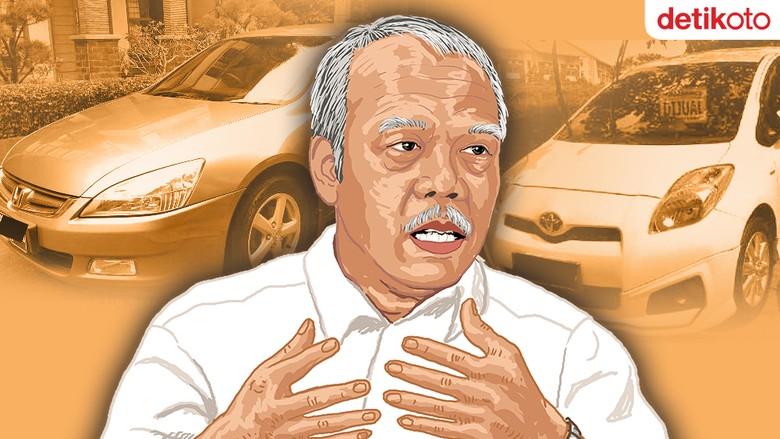 Foto ilustrasi koleksi mobil Basuki Hadimuljono (Foto: Andhika Akbarayansyah)