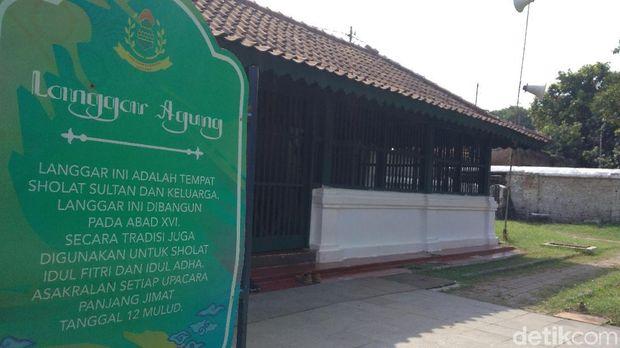 Langgar Agung, Bangunan Tua di Cirebon untuk Ritual Panjang Jimat