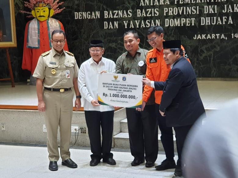 ACT-Pemprov DKI Jakarta Kembali Gelar Bukber untuk Warga Kurang Mampu