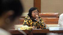 Menteri LHK Siti Nurbaya Bahas Sampah Plastik Bareng DPR