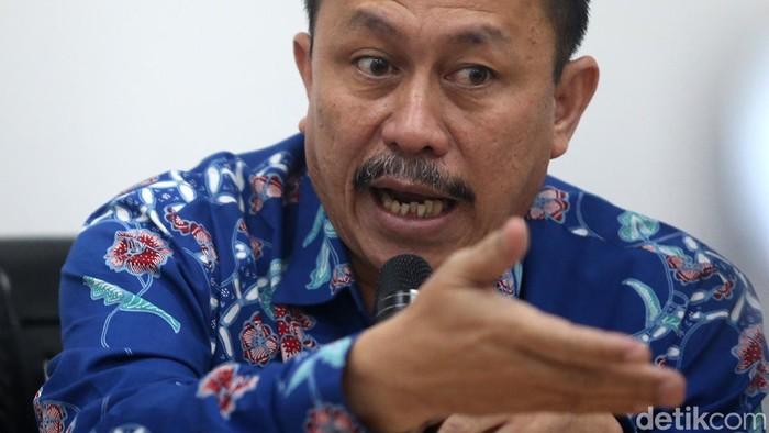 Ketua Komnas HAM Ahmad Taufan Damanik (Ari Saputra/detikcom)
