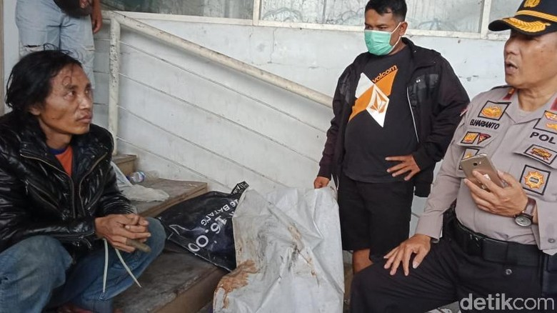 Pelaku Mutilasi Pasar Besar Malang Tertangkap