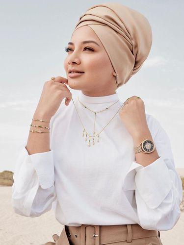 Pertama Kalinya Swarovski Gandeng Hijabers Jadi Model Iklan