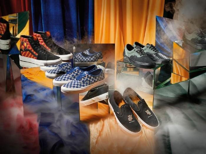Koleksi sneakers Vans x Harry Potter. Foto: Dok. Vans