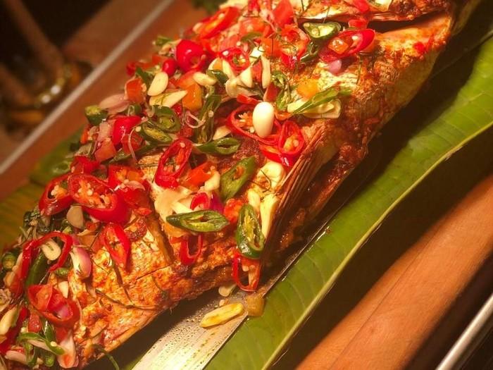 Ikan dori sambal dabu-dabu. Foto: Dok. Aston Pluit