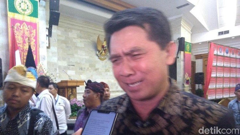Foto: Bupati Klungkung, I Nyoman Suwirta (Aditya Mardiastuti/detikcom)