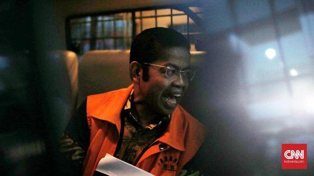 Terdakwa kasus suap PLTU Riau-1 Idrus Marham.