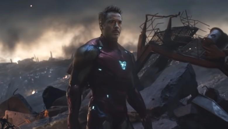 Superhero Pilihan di Pemakaman Tony Stark