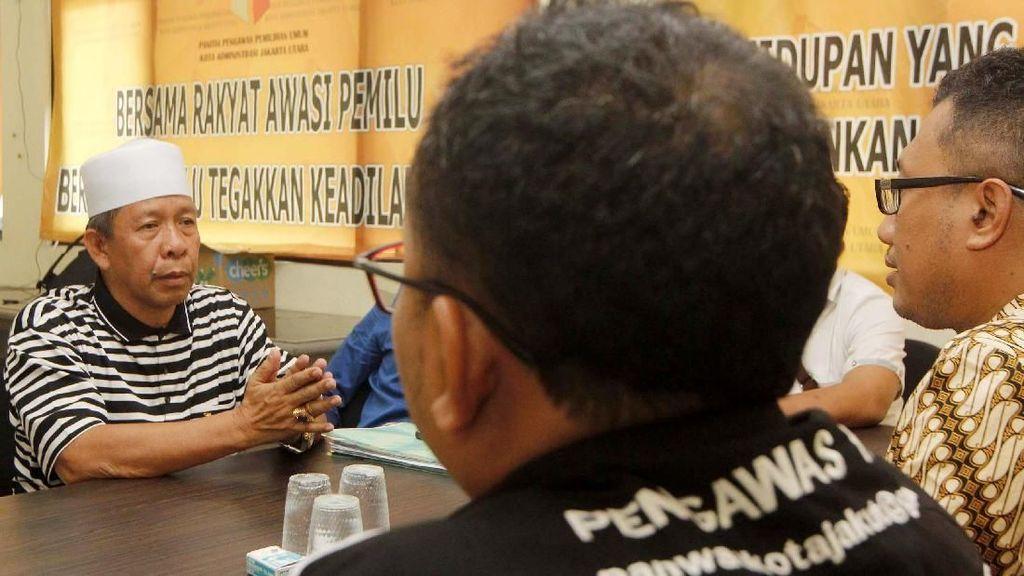 Laporkan Dugaan Kecurangan Pileg DKI Jakarta