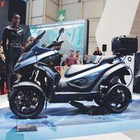 eqooder Motor listrik empat roda pertama