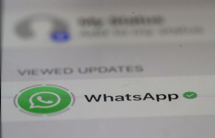 SAN ANSELMO, CALIFORNIA - MAY 14: The WhatsApp messaging app is displayed on an Apple iPhone on May 14, 2019 in San Anselmo, California. Facebook owned messaging app WhatsApp announced a cybersecurity breach that makes users vulnerable to malicious spyware installation iPhone and Android smartphones. WhatsApp is encouraging its 1.5 billion users to update the app as soon as possible.  (Photo Illustration by Justin Sullivan/Getty Images)