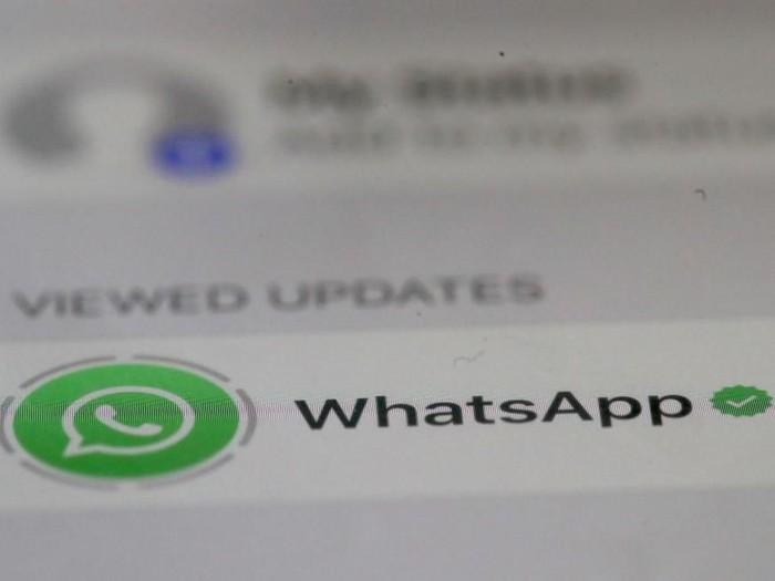 Ok Google! Cara Kirim Pesan WhatsApp Pakai Google Assistant Foto: Justin Sullivan/Getty Images