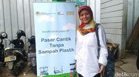 Kasi Pengelolaan Sampah Dinas Lingkungan Hidup Provinsi DKI Jakarta, Rahmawati (Randy/detikcom)