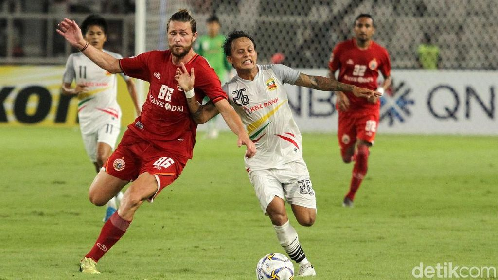 Persija Gagal di Piala AFC karena Sering Kehilangan Pemain