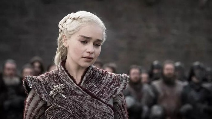 Daenerys Targaryen, Mad Queen di Game of Thrones. Foto: Dok. HBO