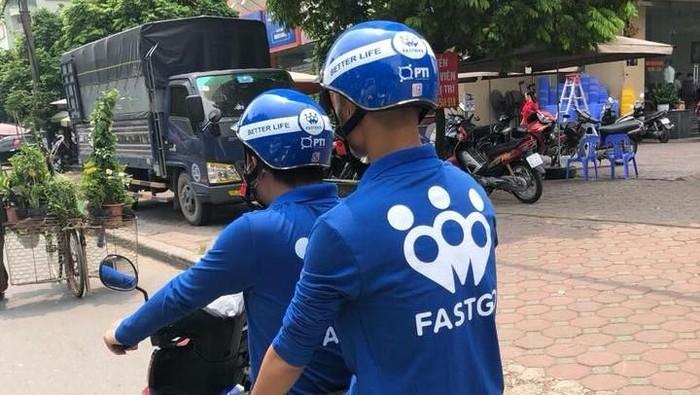 FastGo, penyedia jasa ride hailing saingan Go-Jek dan Grab. Foto: Facebook/fastgomobi